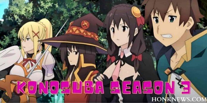 KonoSuba Season 3: The Old-New Show