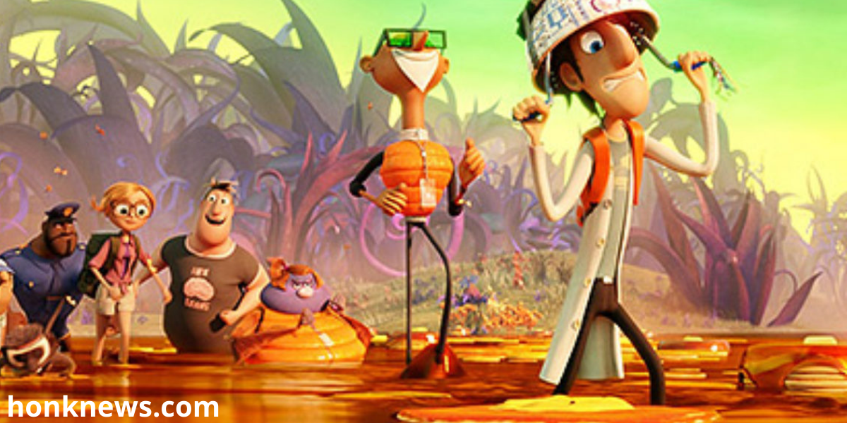 Cloudy With a Chance of Meatballs 3: A Sci-Fi Comedy