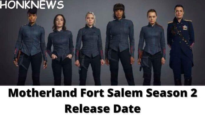 Motherland: Fort Salem Season 2