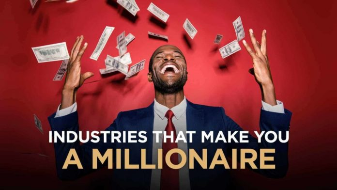 What Are The Industries That Make The Most Millionaires?